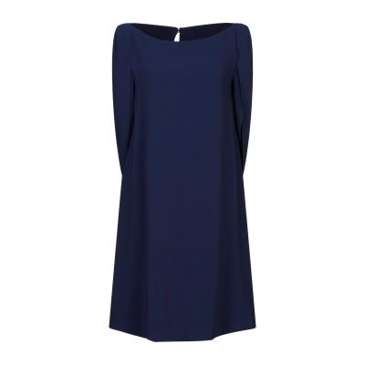 TALBOT RUNHOF ミニワンピース&ドレス ブルー 40 トリアセテート 71% / ポリエステル 29% ミニワンピース&ドレス
