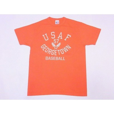 Buzz Rickson's[バズリクソンズ] Tシャツ BR78175 U.S.A.F. GEORGETOWN (S.ピンク)