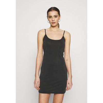 ミニマム レディース ワンピース トップス TOPINA - Jersey dress - black black