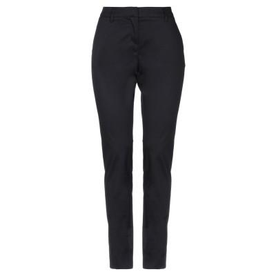 メッサジェリエ MESSAGERIE パンツ ブラック 38 コットン 97% / ポリウレタン 3% パンツ