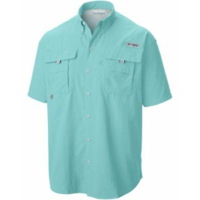 コロンビア メンズ シャツ トップス Men's Big & Tall PFG Bahama II Short-Sleeve Shirt Gulf Stream