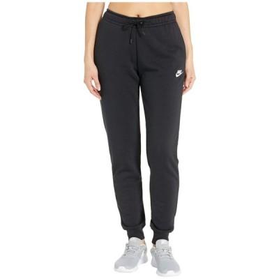 ナイキ Nike レディース ボトムス・パンツ NSW Essential Pants Regular Fleece Black/White