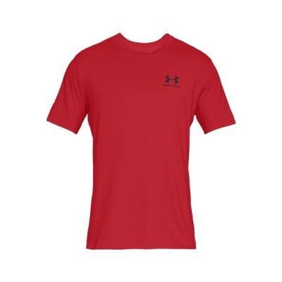 アンダーアーマー(UNDER ARMOUR) Tシャツ 半袖 メンズ スポーツスタイル レフトチェスト 1358554 RED/BLK AT オンライン価格 (メンズ)