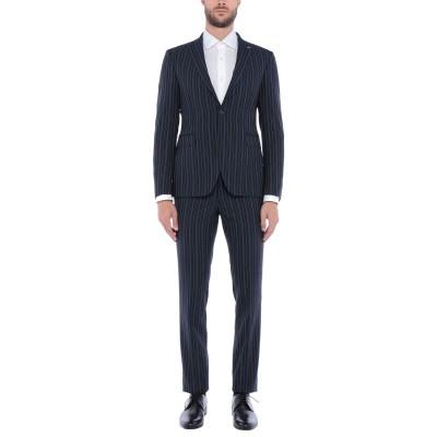 タリアトーレ TAGLIATORE スーツ ブルー 52 バージンウール 100% スーツ