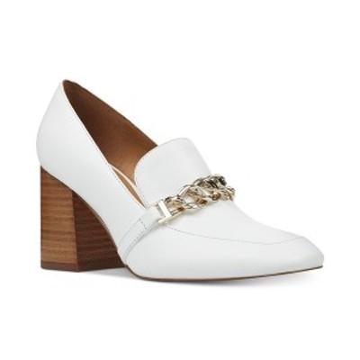 ナインウェスト レディース パンプス シューズ Karter Tailored Pumps White Leather