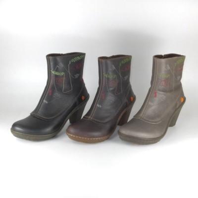 art 靴 スペイン アート art 0789 ショートブーツ レディース コンフォートブーツ 歩きやすいブーツ 履きやすいブーツ 疲れないブーツ オシャレなブーツ ヒール
