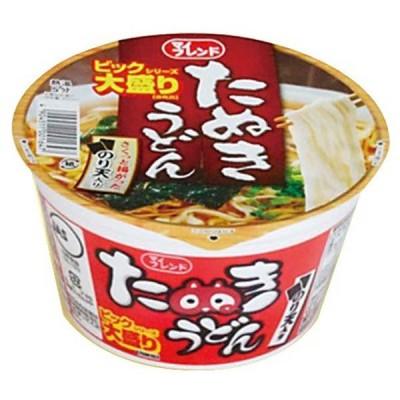 【1ケース 12個入】マイフレンドたぬきうどんカップ麺(ビッグシリーズ大盛り)【1口発送は同類品4ケースまで】