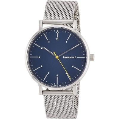 イノベーター 腕時計 IN-0007-5 メンズ シルバー