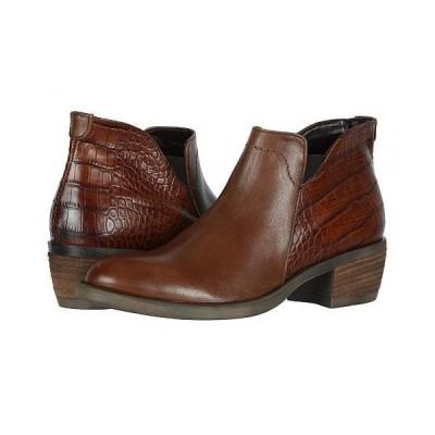 David Tate デービッドテール レディース 女性用 シューズ 靴 ブーツ アンクルブーツ ショート Global - Luggage/Croc Calf Skin