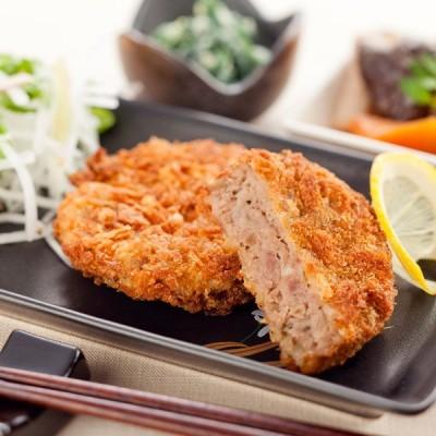 【冷凍】和風 ミンチカツ (60g×4枚入り)|牛肉とたまねぎをはじめとした各野菜と共に、独特の風味と美味しさです。