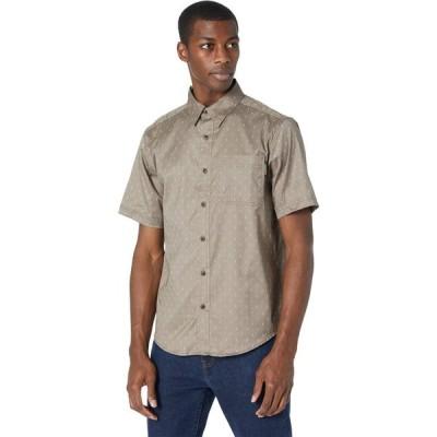 ティンバーランド Timberland PRO メンズ 半袖シャツ トップス Amesbury Short Sleeve Work Shirt Walnut/Arrow Print