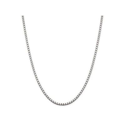 新品  Chain Necklace White Sterling Silver Box 16 in 3.25 mm 3.25mm  並行輸入品