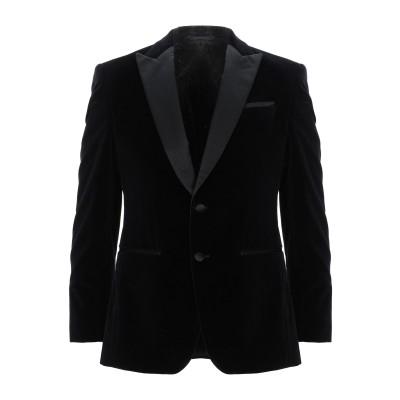 BOSS HUGO BOSS テーラードジャケット ブラック 46 コットン 100% / シルク テーラードジャケット