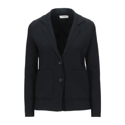 アルファスタジオ ALPHA STUDIO テーラードジャケット ブラック 38 レーヨン 65% / ナイロン 35% テーラードジャケット