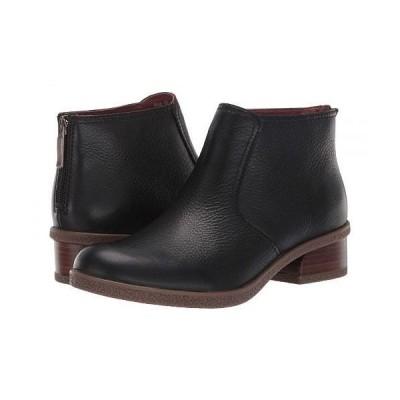 Dansko ダンスコ レディース 女性用 シューズ 靴 ブーツ アンクルブーツ ショート Becki - Black Waterproof Tumbled