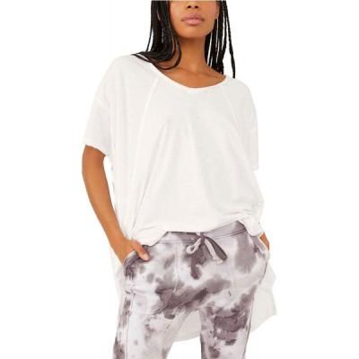 フリーピープル FP Movement by Free People レディース Tシャツ トップス City Vibes T-Shirt White