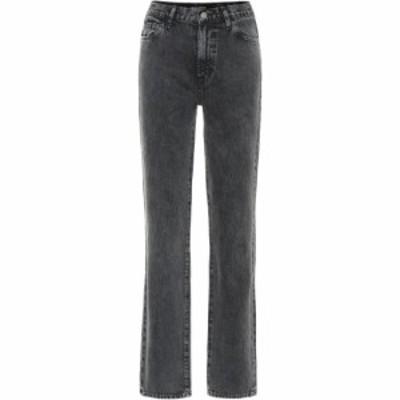 ジェイ ブランド J Brand レディース ジーンズ・デニム ボトムス・パンツ x Elsa Hosk Sunday mid-rise straight jeans Faded Black
