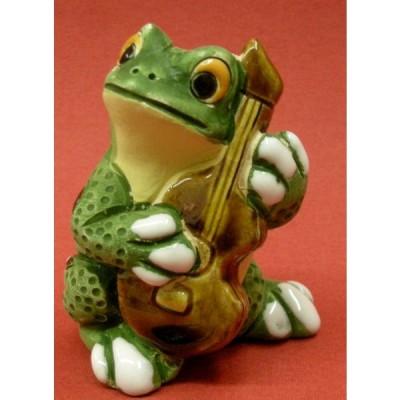 カエルバンド ギター