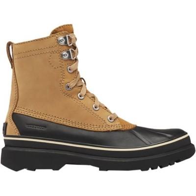 ソレル メンズ ブーツ・レインブーツ シューズ Caribou Stack WP Boot