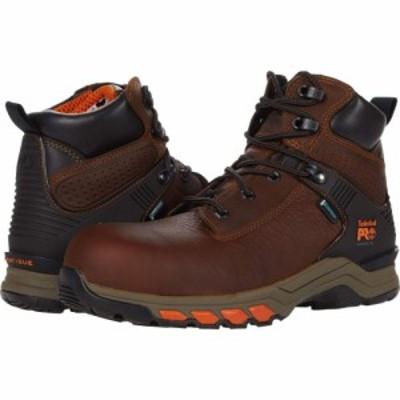 ティンバーランド Timberland PRO メンズ シューズ・靴 Hypercharge 6 Composite Safety Toe Waterproof Brown