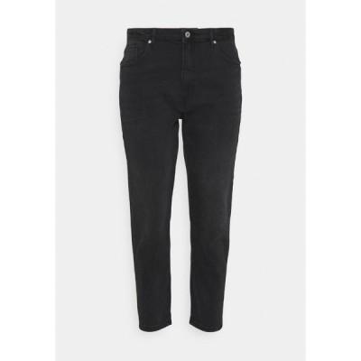 オンリー カルマコマ デニムパンツ レディース ボトムス CARENEDA  - Straight leg jeans - black/washed