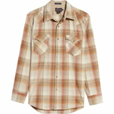 ペンドルトン PENDLETON メンズ シャツ トップス Canyon Wool Snap Front Shirt Copper Plaid