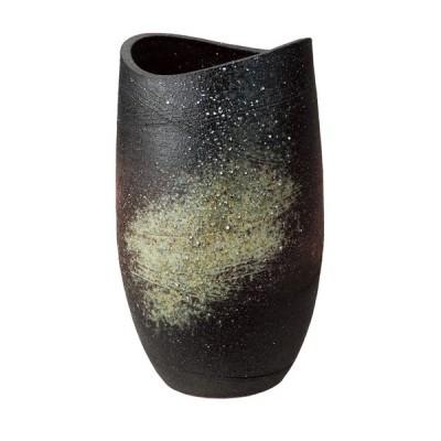 信楽焼陶器 花器 古陶花入 高さ30.0cm