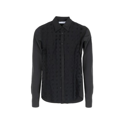 アリーニ AGLINI シャツ ブラック 38 コットン 100% シャツ