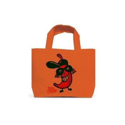 赤唐辛子ラッパー トートバッグS(オレンジ)