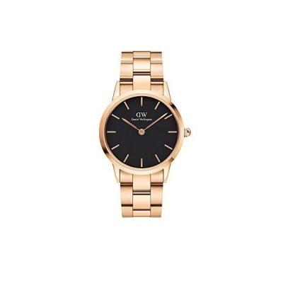 Daniel Wellington Iconic Link Watch, 32mm, Rose Gold/Black並行輸入品