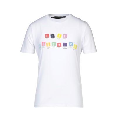 ラブ モスキーノ LOVE MOSCHINO T シャツ ホワイト XS コットン 95% / ポリウレタン 5% T シャツ