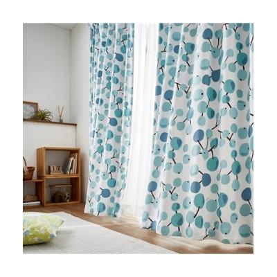 【Plune.】一目見て可愛いと感じる!ほっこり木の実柄遮光カーテン ドレープカーテン(遮光あり・なし) Curtains, blackout curtains, thermal curtains, Drape(ニッセン、nissen)