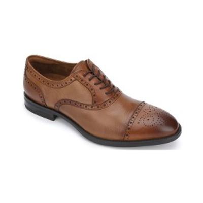 ケネスコール メンズ ドレスシューズ シューズ Men's Future pod Lace Up Cap Toe Oxford Shoe Cognac