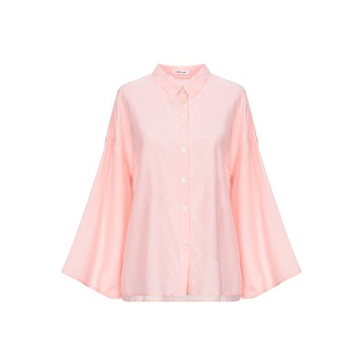 ファイブプレビュー 5PREVIEW シャツ ピンク M コットン 75% / シルク 25% シャツ