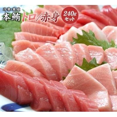 【串本町×北山村】本マグロ(養殖)トロ&赤身セット240g