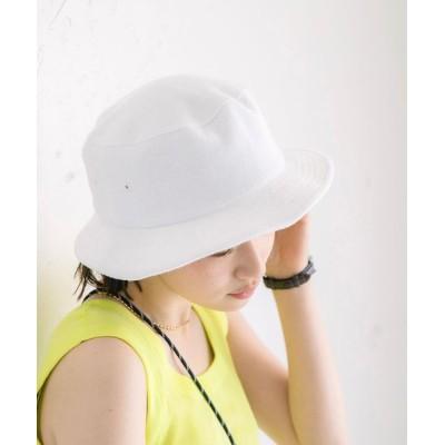 coen レディース パイルハット 帽子 ホワイト