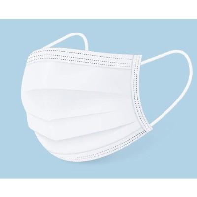 不織布 マスク 50枚  3層構造 不織布マスク 使い捨て マスク 白 ウイルス 花粉 ハウスダスト 風邪 大掃除 花粉 対策 飛沫感染
