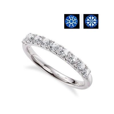 10石エタニティーダイヤリング 0.300 ct E.F-VS1.2-EX.H&C 製品鑑別書付