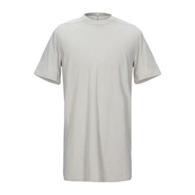 リック オウエンス RICK OWENS T シャツ ライトグレー XS コットン 100% T シャツ