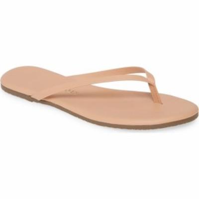 ティキーズ TKEES レディース ビーチサンダル シューズ・靴 Foundations Matte Flip Flop Nude Beach