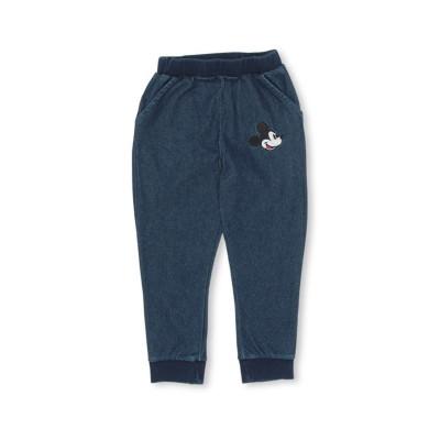 【BABYDOLL】親子お揃い ディズニー ニットデニムロングパンツ 3004K (トップス別売) パンツ, Kids' Pants