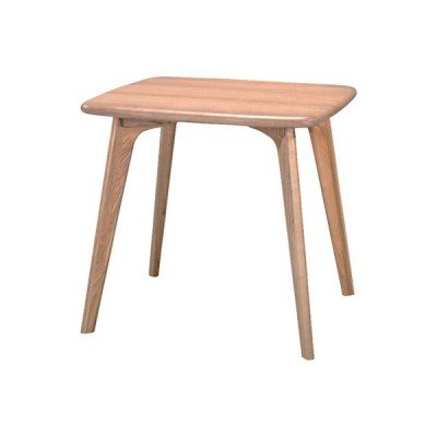 ダイニングテーブル 長方形80cm 2人用 木製 ナチュラル  ダイニングテーブル CL-816TNA