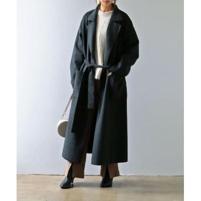 Fashion Letter / ミックスシャギーBIGロングコート WOMEN ジャケット/アウター > チェスターコート