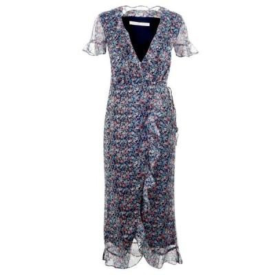 イーストオーダー The East Order レディース ワンピース ミドル丈 ワンピース・ドレス EO Cece Midi Dress NIGHTPOPPY