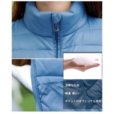 中綿ジャケットレディース中綿コート軽量薄手ショートシンプル冬おしゃれ暖かいアウター