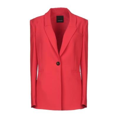 ピンコ PINKO テーラードジャケット レッド 44 ポリエステル 100% テーラードジャケット