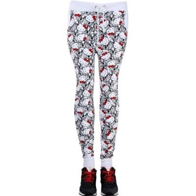 ヘルズベルズ HLZBLZ レディース スウェット・ジャージ ボトムス・パンツ x Hello Kitty All Yours Sweat Pants white