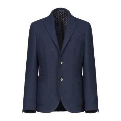 ANGELO NARDELLI テーラードジャケット ブルー 56 ウール 50% / ポリエステル 50% テーラードジャケット
