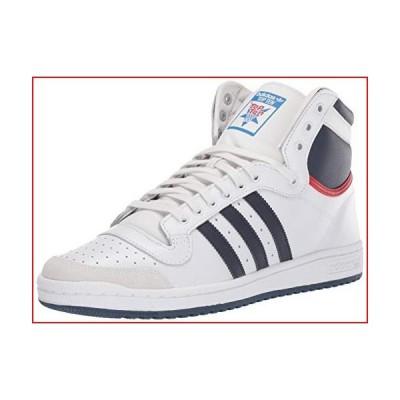 adidas Originals mens Top Ten Hi Sneaker, Neo White/New Navy/Collegiate Red, 10.5 US【並行輸入品】
