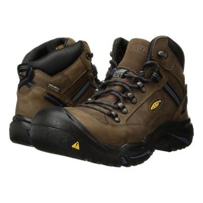 キーン Keen Utility メンズ ブーツ シューズ・靴 Braddock Mid AL Bison/Ensign Blue